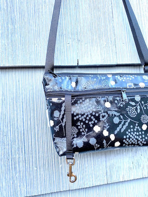 Alyssa Purse in Silver Fox