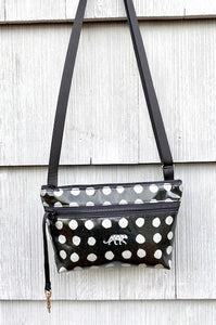 Alyssa Purse in Silver Spots Leopard
