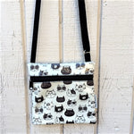 Small Travel Purse in So Nice Cats