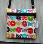 Travel Purse in Butterfly print
