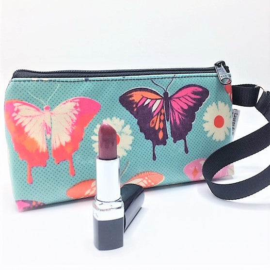 Makeup Bag in Butterflies