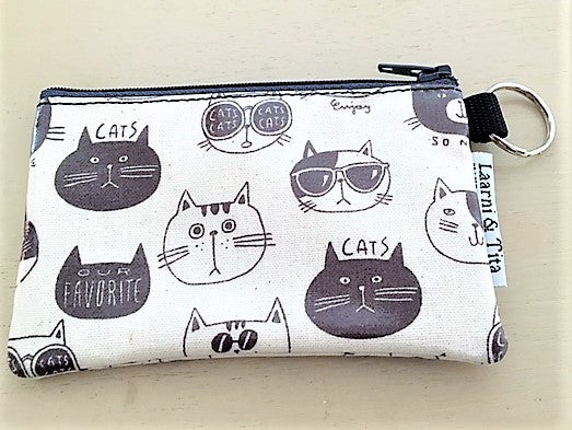 Coin Purse in So Nice Cats