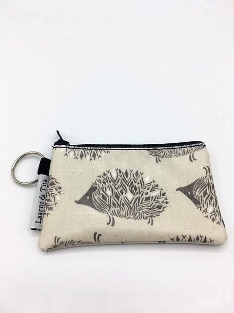 Coin Purse in Hedgehogs