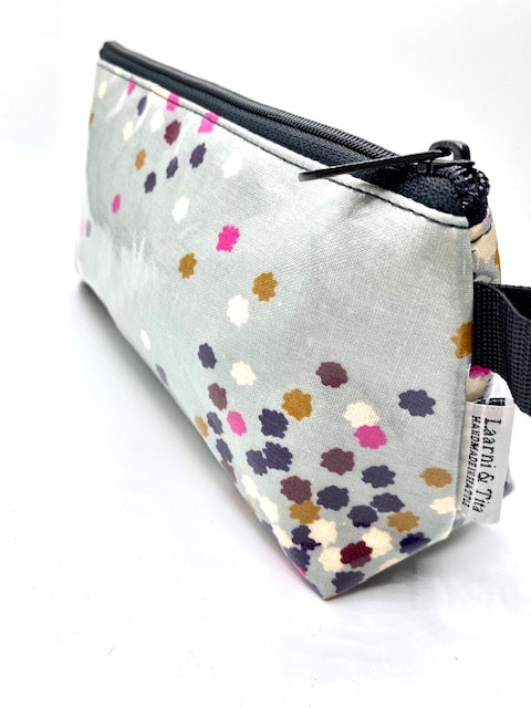 Makeup Bag in Confetti Print