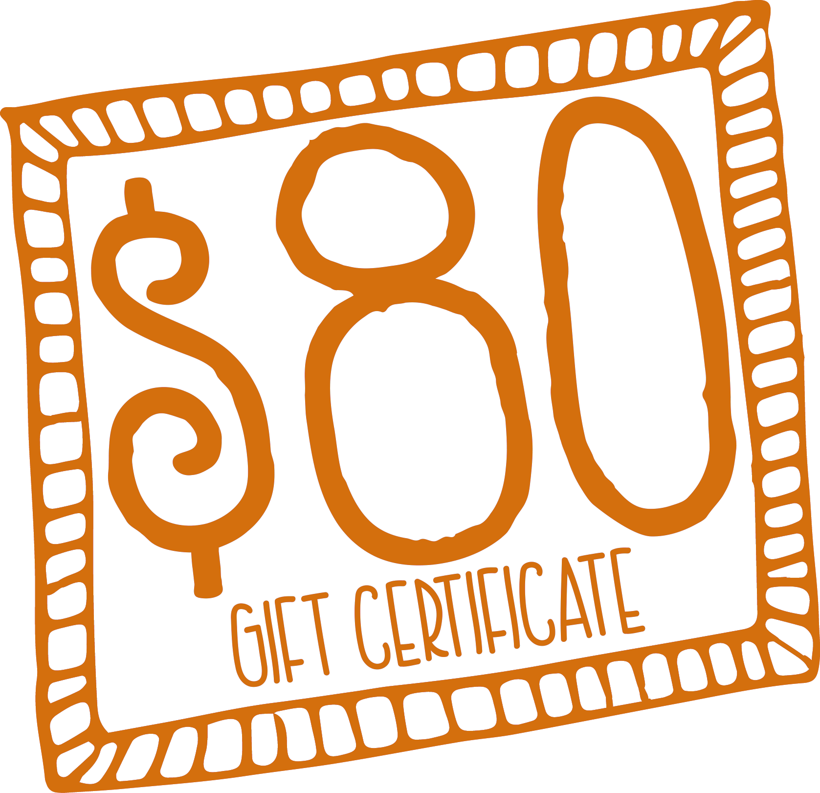 $80 Gift Certificate for Laarni and Tita