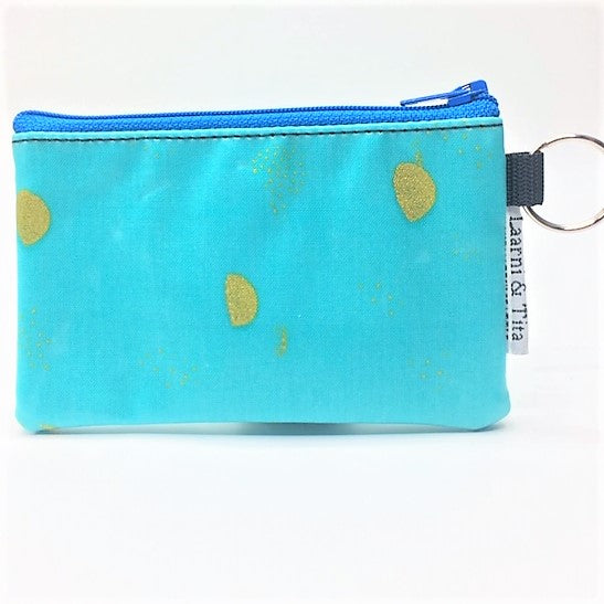 Coin Purse in Gold Moons