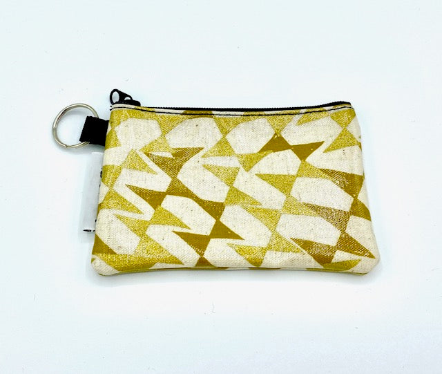 Coin Purse in Streamers-Gold