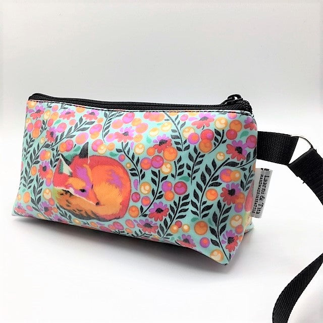 Makeup Bag in  Fox in Floral