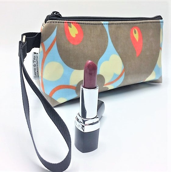 Makeup Bag in Morning Glory print