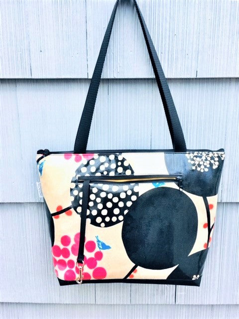 Lydia Tote in Pink Berries