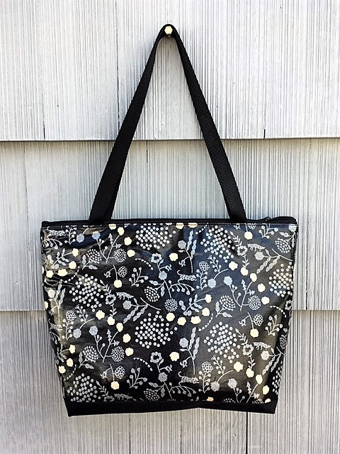 Lydia Tote in Silver Fox