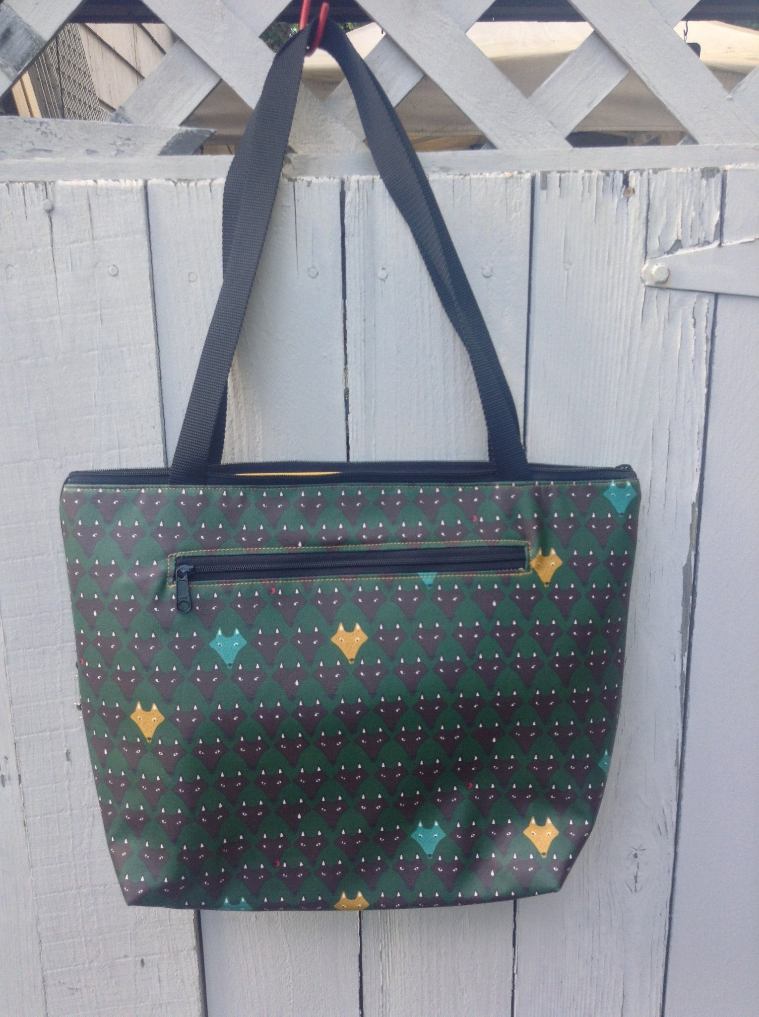 Lydia Tote in Yellow Fox