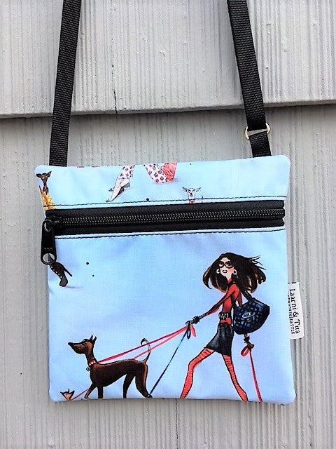 Travel Purse in Dog Walker