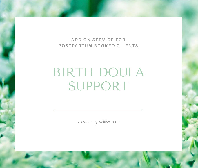 Add-On Birth Doula Support