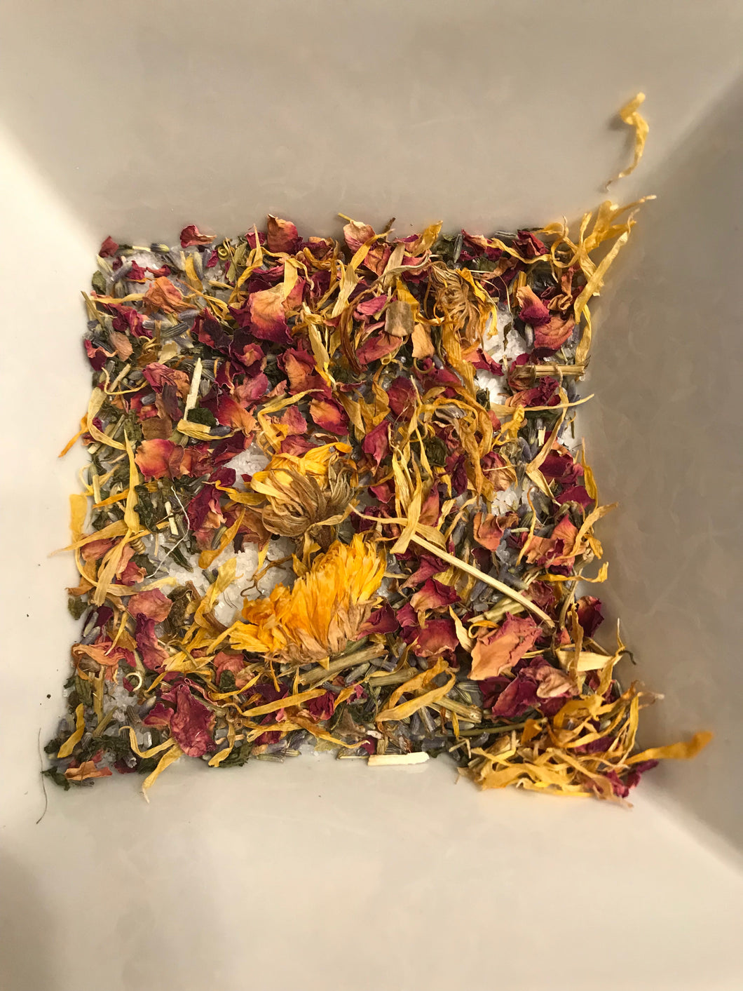 Sea Salt Herbal Bath Blend
