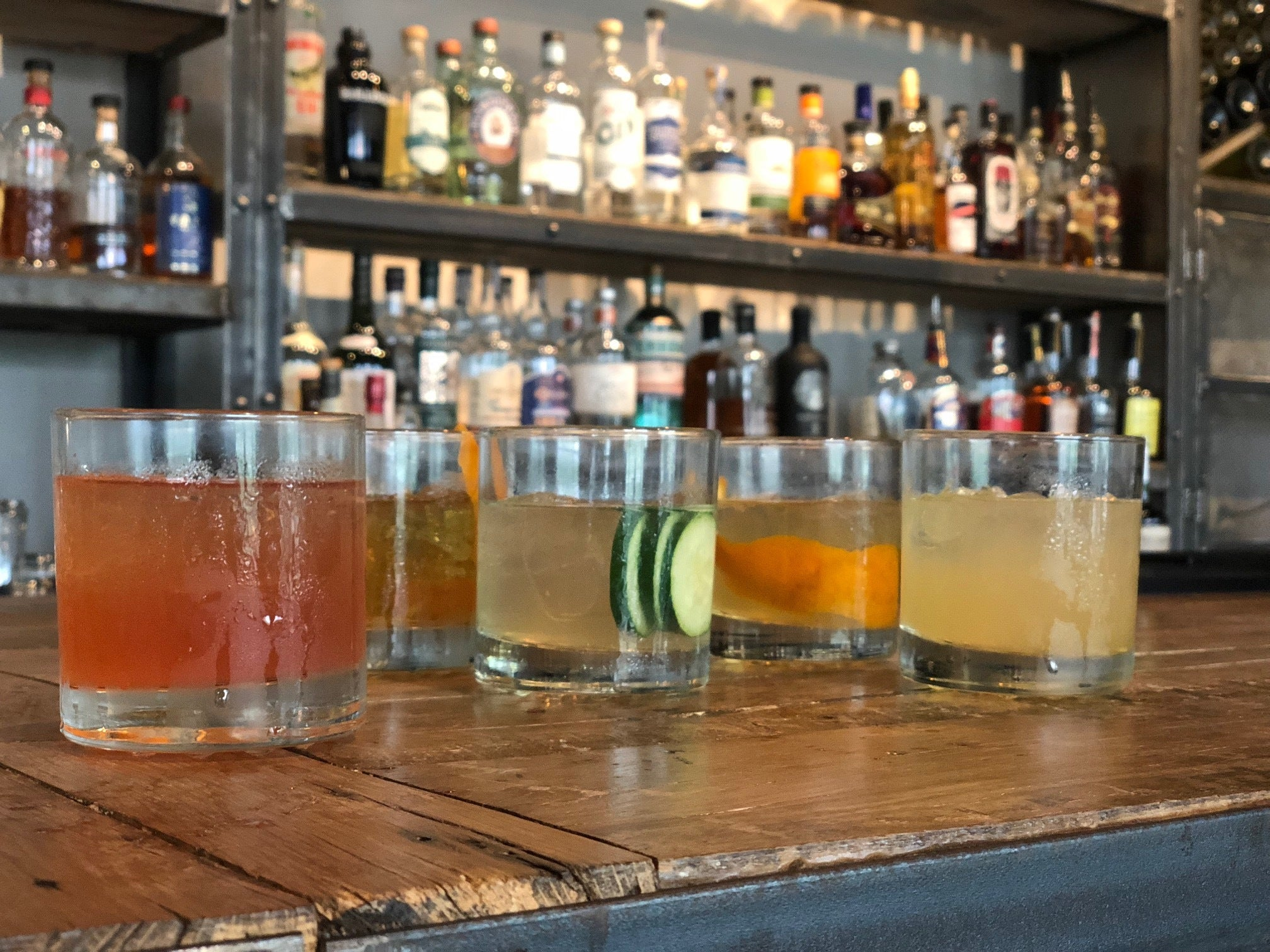 New Fall Cider Cocktail Menu