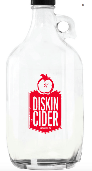 64 oz Glass Growler (FOR CIDER DELIVERY)