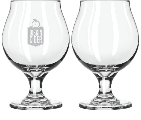 Engraved 16 oz Tulip Glass