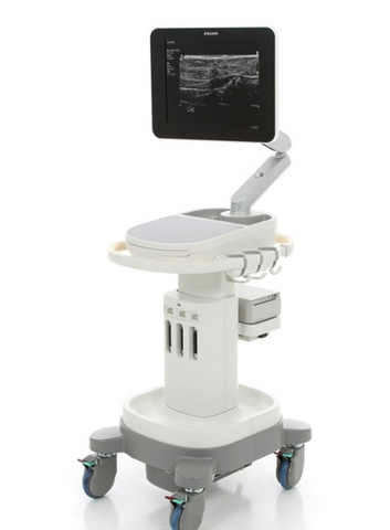 Philips Sparq emergency shared service ultrasound system