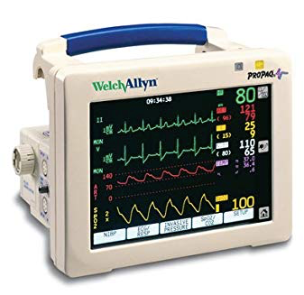 Welch Allyn Propaq CS 242 Vital Signs Patient Monitor