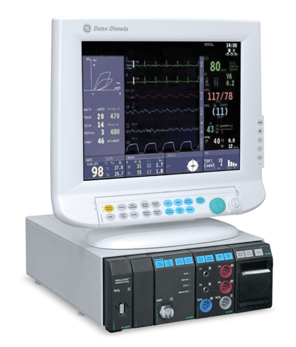 Image of GE Datex Ohmeda S/5 Patient Monitor