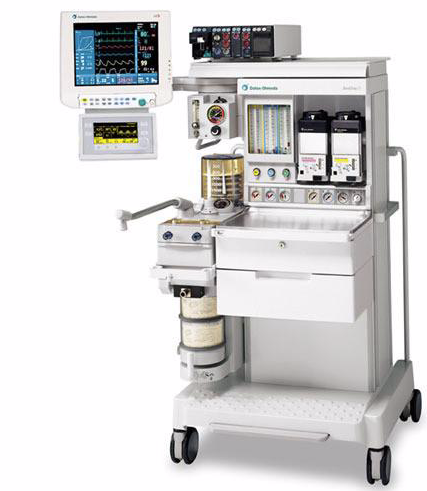 Image of GE Datex Ohmeda Aestiva 5 Anesthesia Machine