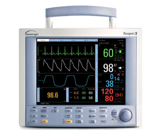 Image of Datascope Passport II Patient Monitor