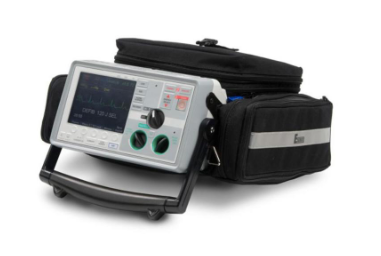 Image of Zoll E-Series Defibrillator (12-lead, Biphasic, Pacing, Sp02, NIBP, EtCO2, AED)
