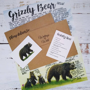 Grizzly Bear April 2021