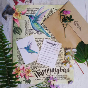 Hummingbird Letter April 2020