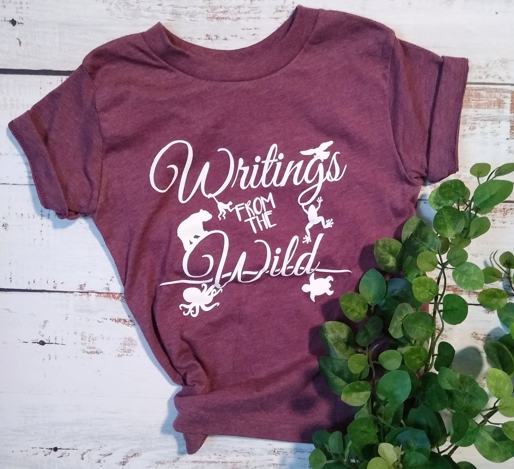 Short Sleeve - Heather Maroon
