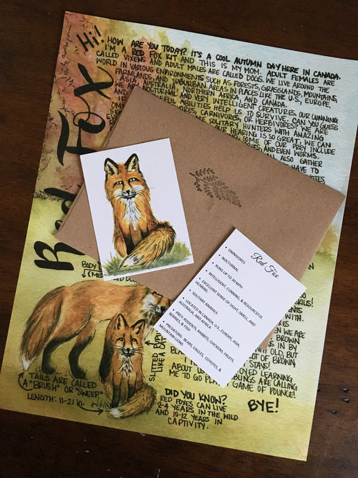 October 2019 Red Fox Letter