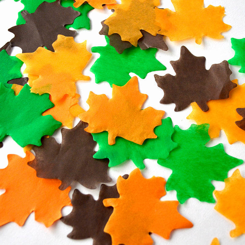 1kg Leaves Confetti 55mm