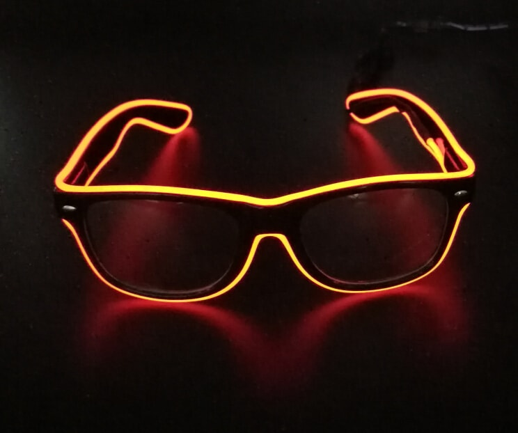 Extreme EL Glasses (Yellow)