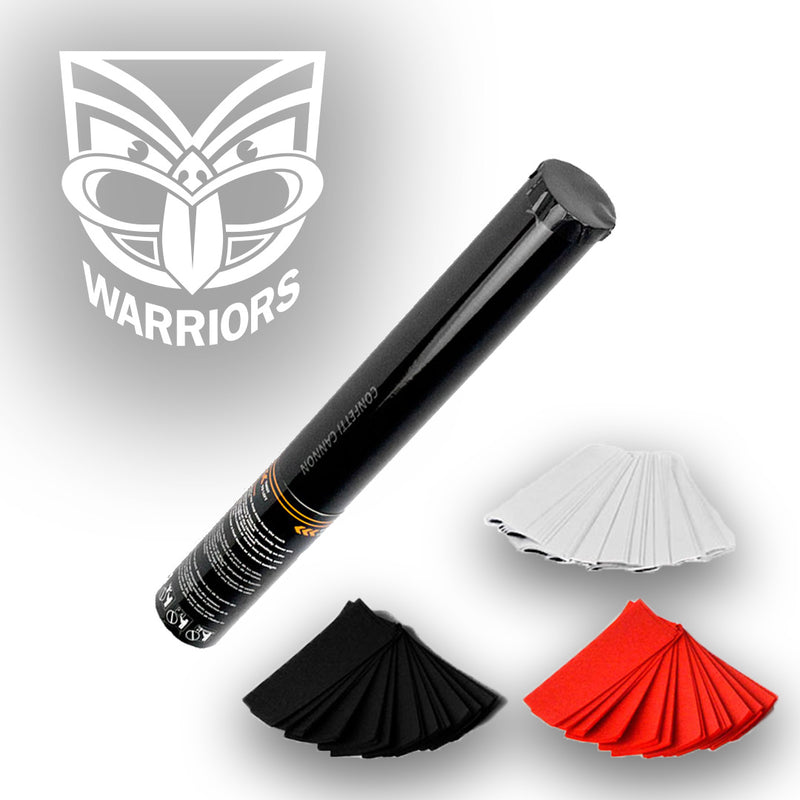NRL Warriors Confetti and Streamer Cannons