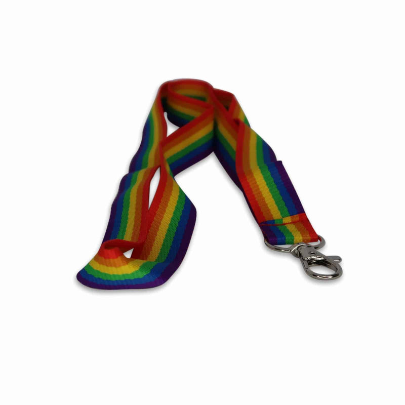 Rainbow Party Lanyard