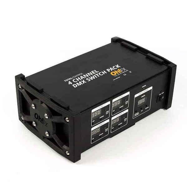 4 Channel DMX Switchpack