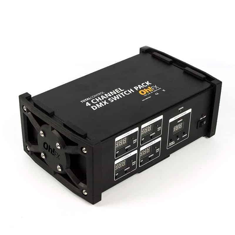 8 Channel DMX Switchpack/Pusher