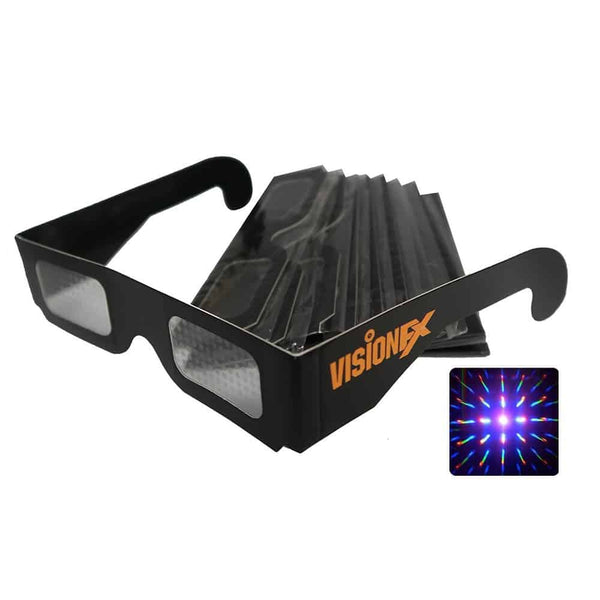 Paper Diffraction Glasses (Clear)
