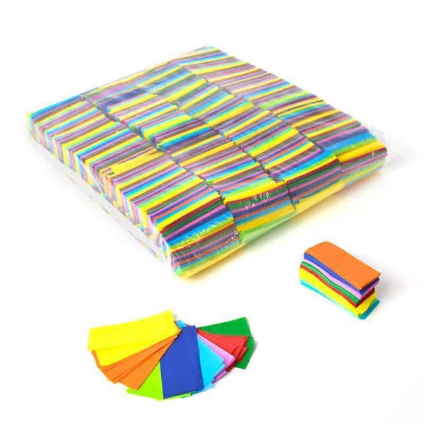 1kg Rectangle Tissue Confetti