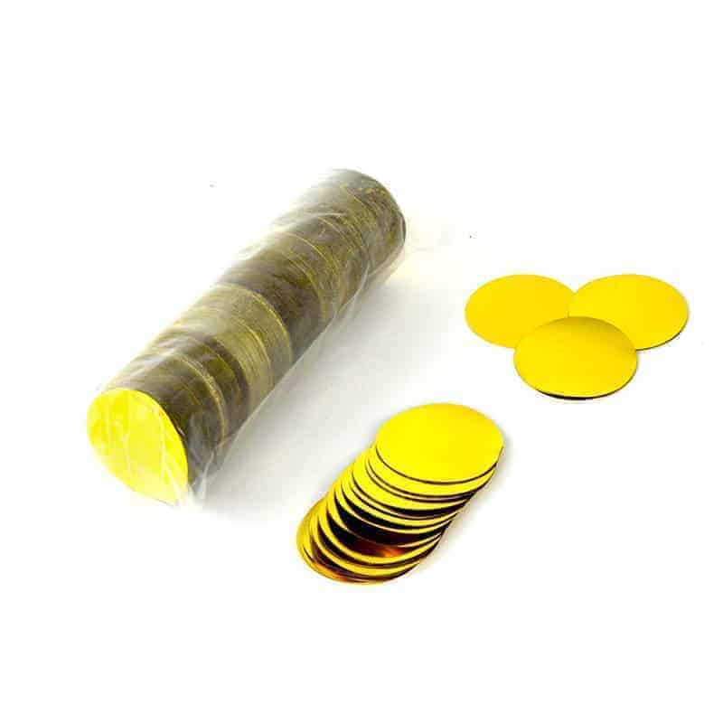 200g Circle Metallic Confetti 42mm