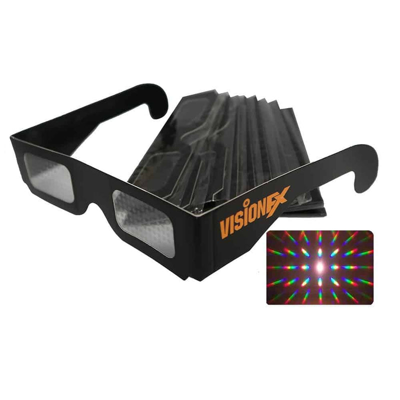 Paper Diffraction Glasses (Spiral)