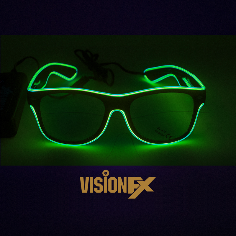 Extreme EL Glasses (Green)