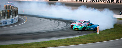 FORMULA DRIFT RETURNS TO ST. LOUIS FOR ROUND 1 & 2. TEAM DRIVER MATT FIELD SECURES TOP 5 PLACEMENT HEADING INTO ROUND 3 & 4