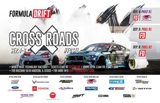 Pedal Commander is Proud to Announce Sponsorship of the 2020 Formula Drift Season!