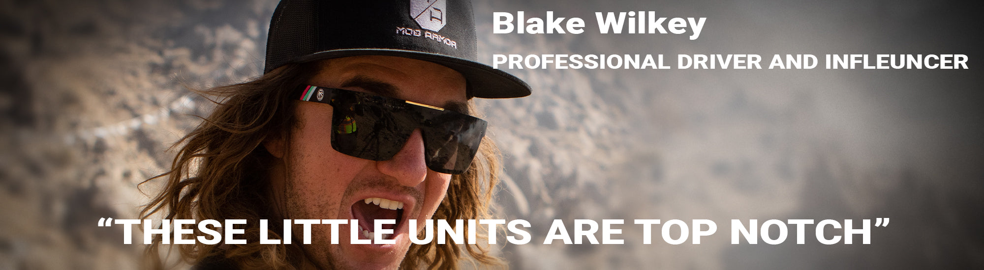 Blake Wilkey with Pedal Commander Photo