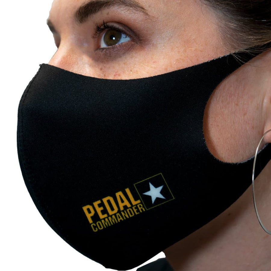 Pedal Commander Black Box Logo Face Mask