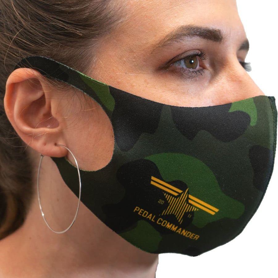 Pedal Commander Camouflage Face Mask
