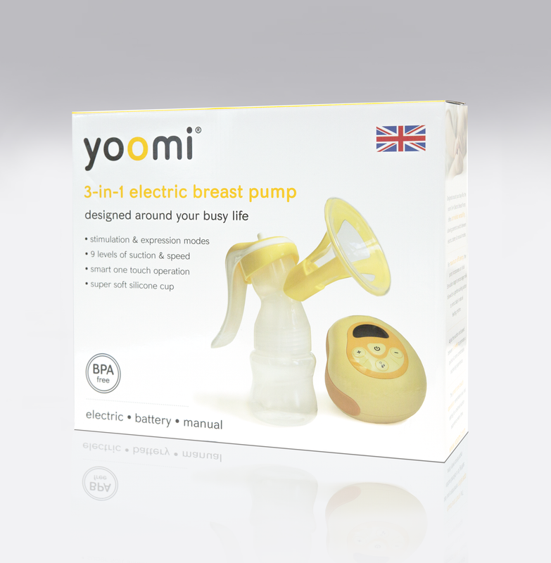 3-in-1 electric breast pump
