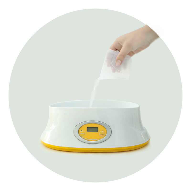 deep clean™ electric steam steriliser